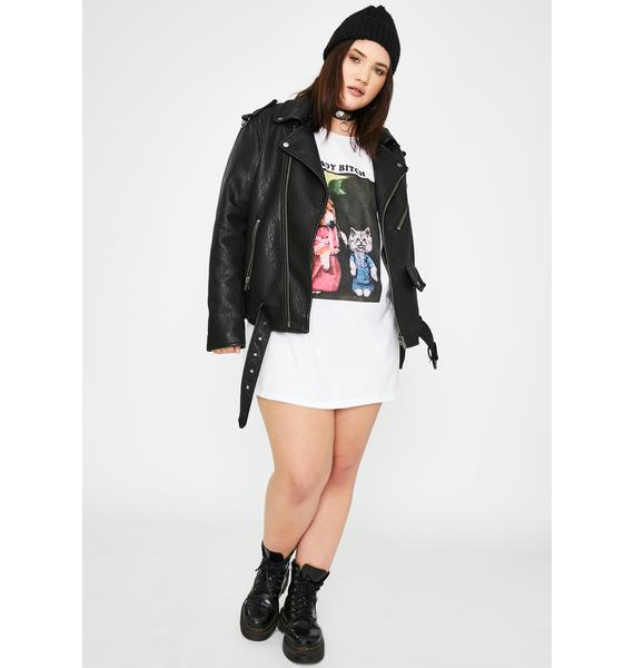 NEW GIRL ORDER Plus Shady Bitch Graphic Tee