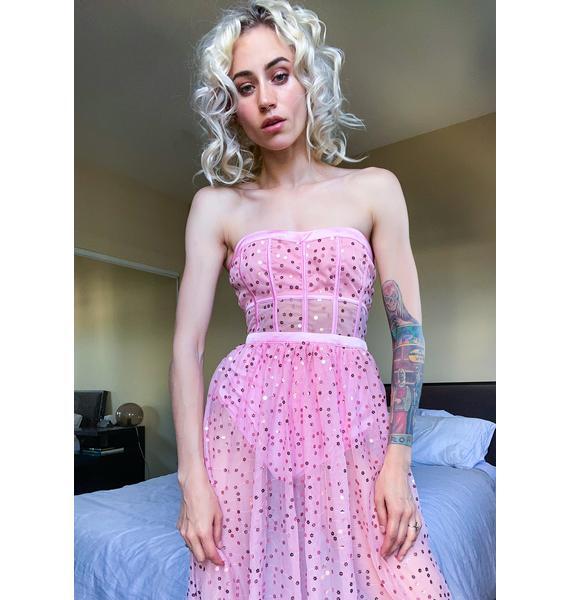 For Love & Lemons Manic Monday Maxi Dress