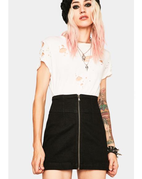 Virgo Mini Skirt