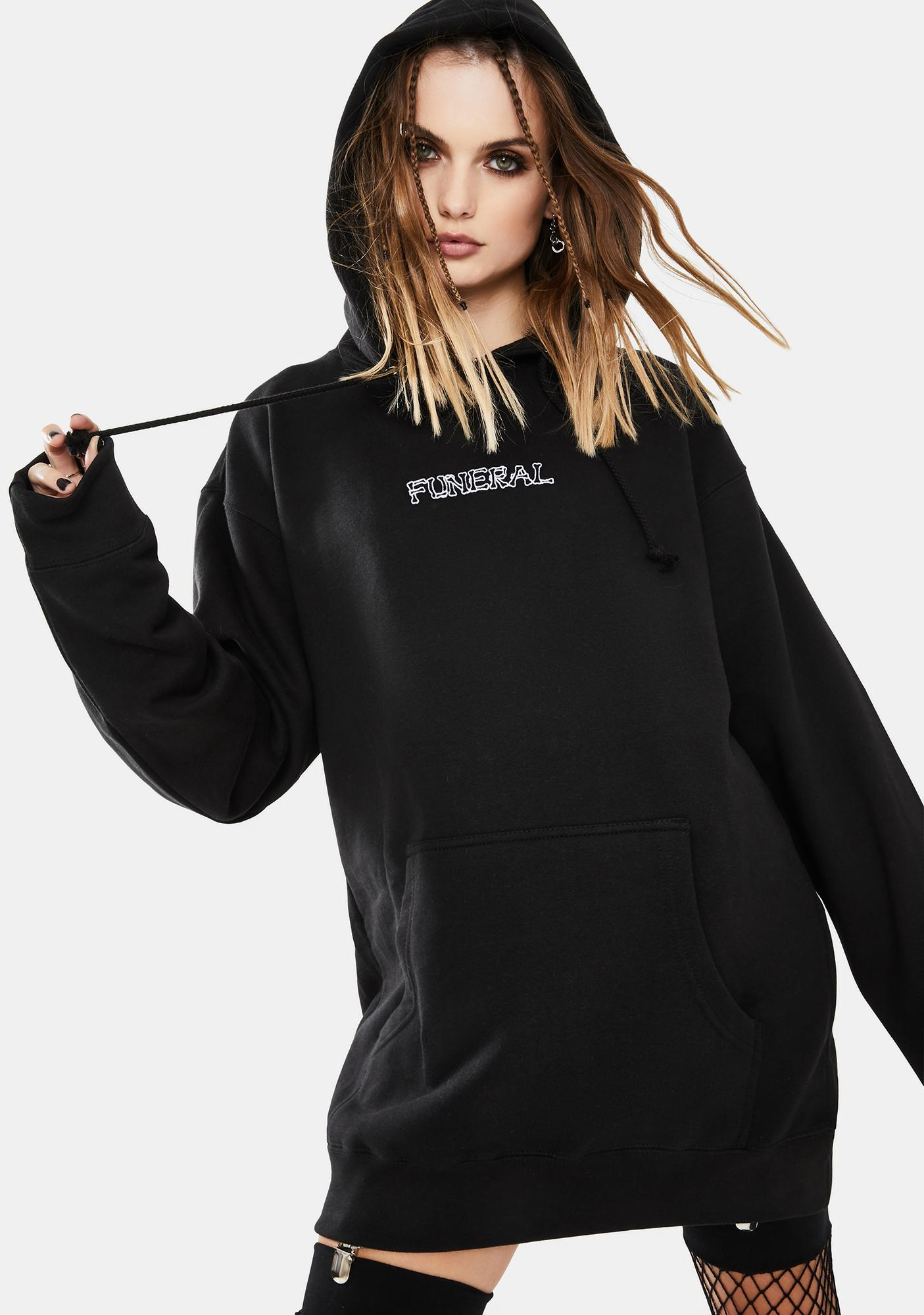 Funeral Logo Keyhole Graphic Hoodie