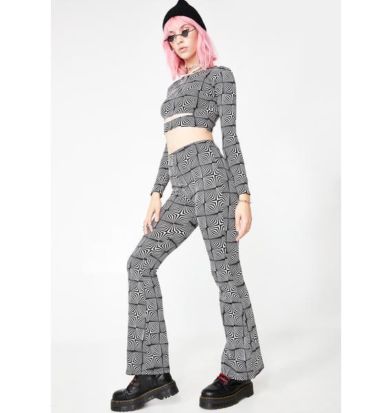 Motel Jeevan Flare Trousers