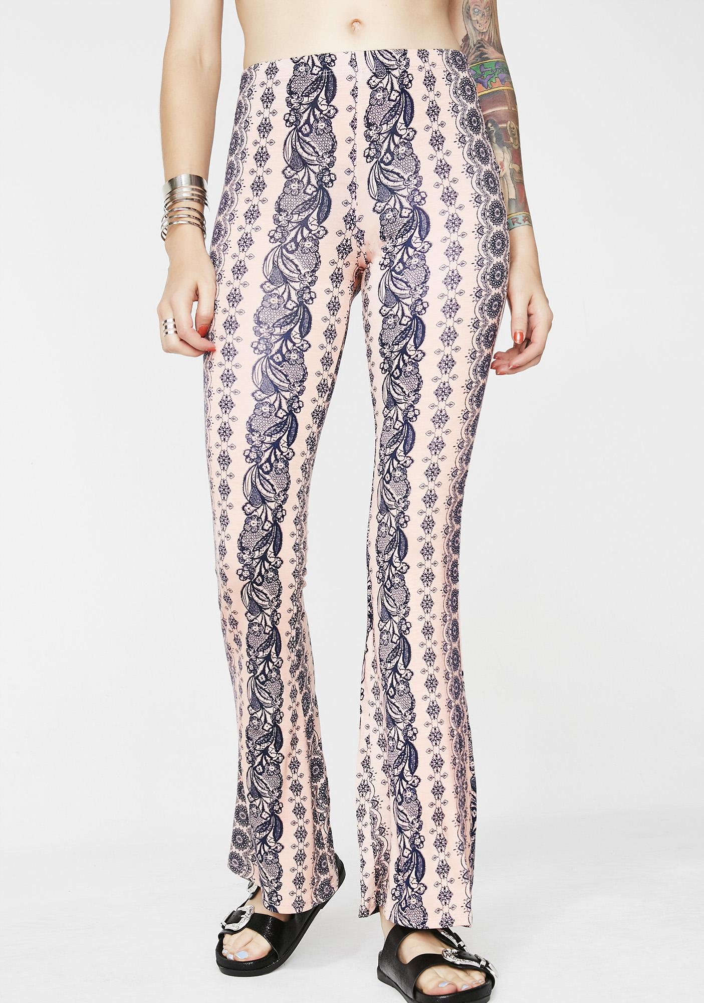 Sweet Haze Printed Pants