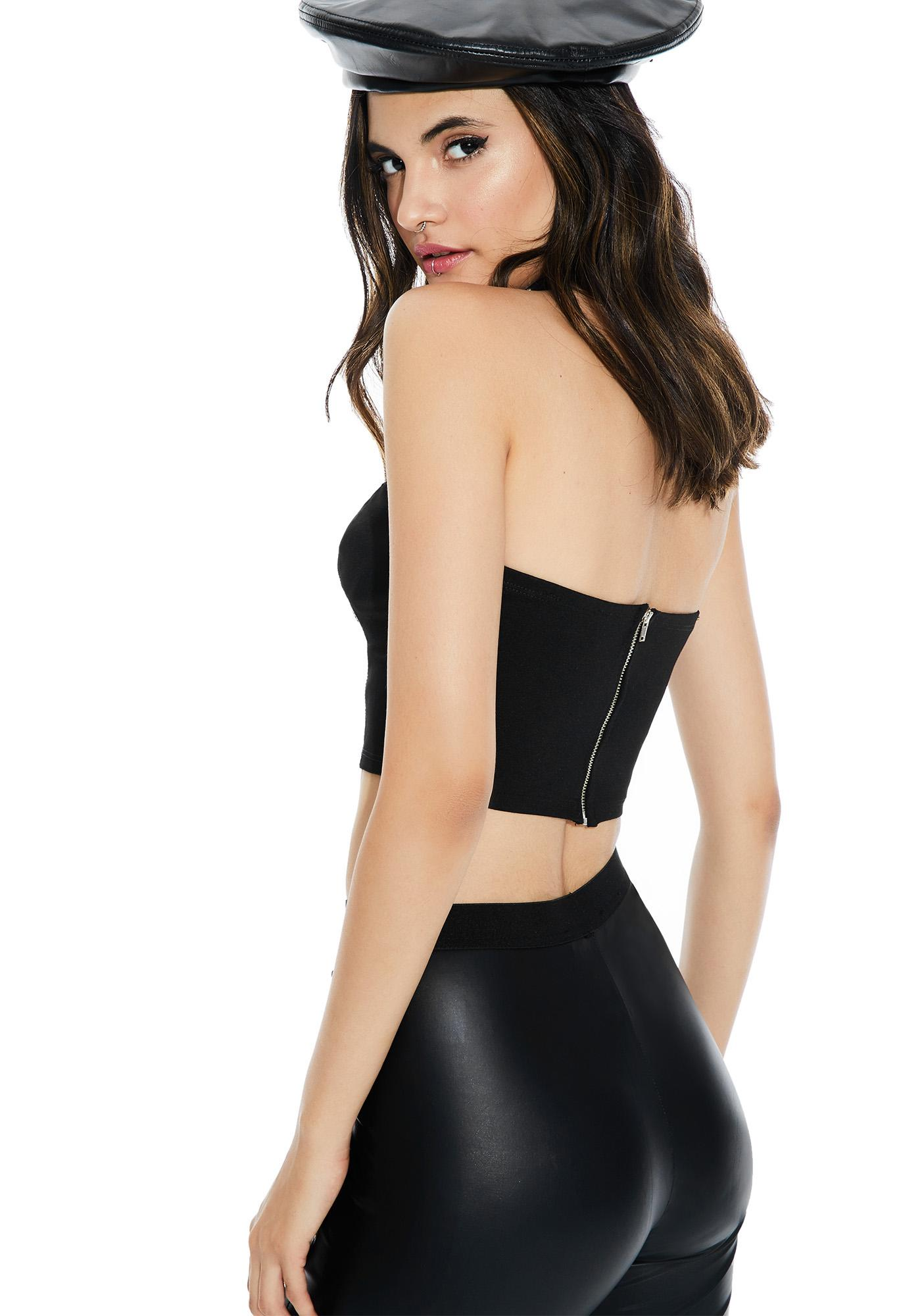 Treat Me Right Cropped Bustier