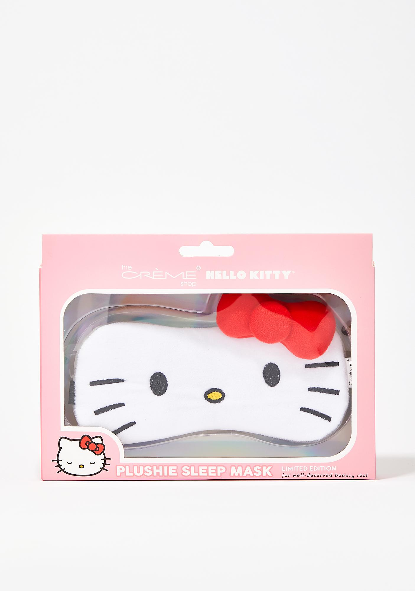 The Crème Shop Hello Kitty Plushie Sleep Mask