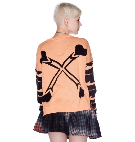 Mad Love Heart and Mind Jumper