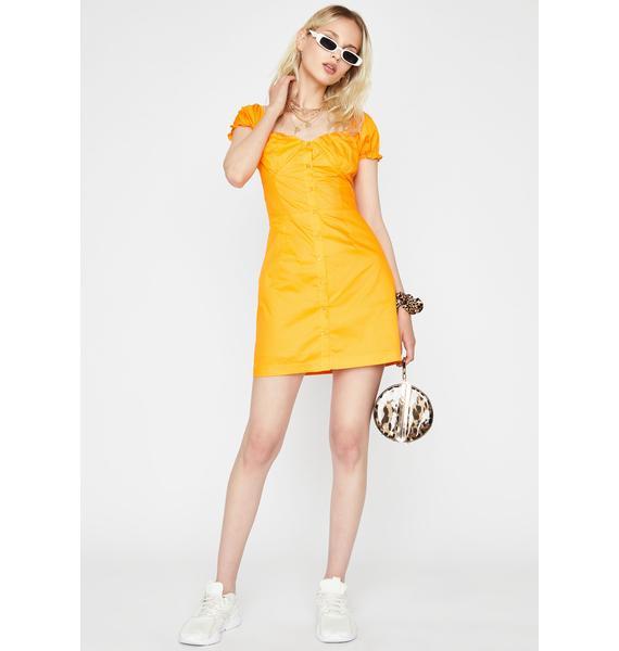 Citrus Summer Saint Mini Dress