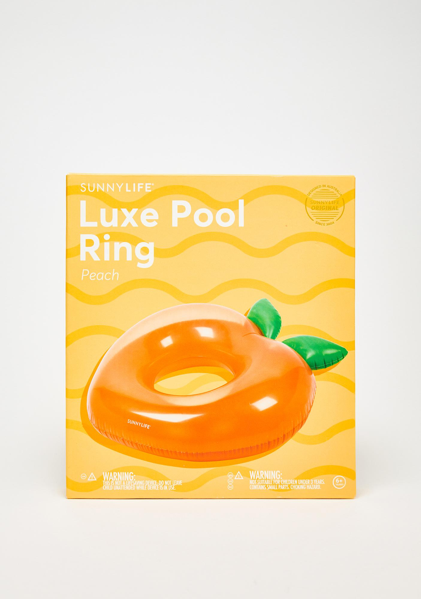 Peachy Paradise Pool Float