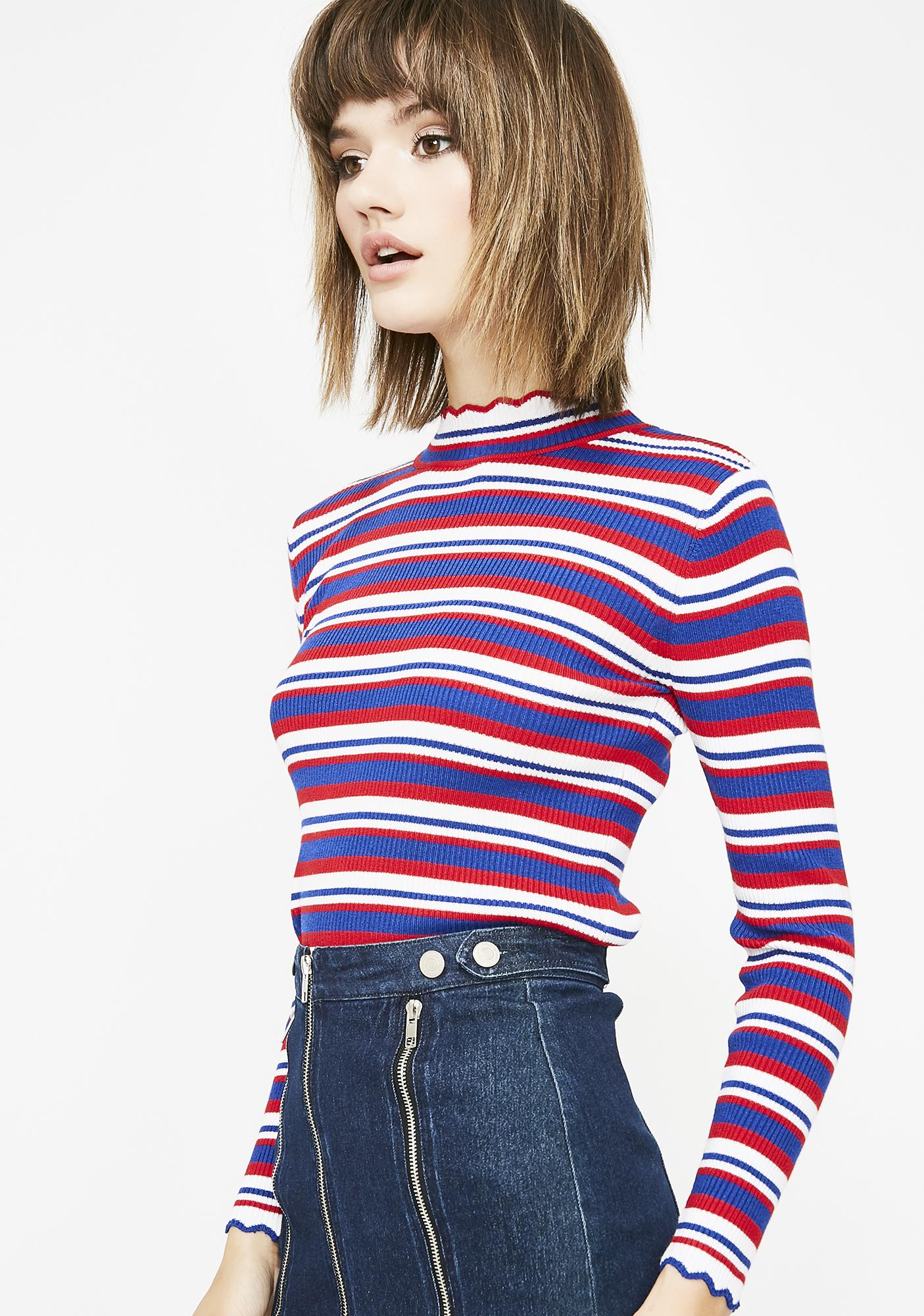 Playground Luv Stripe Top