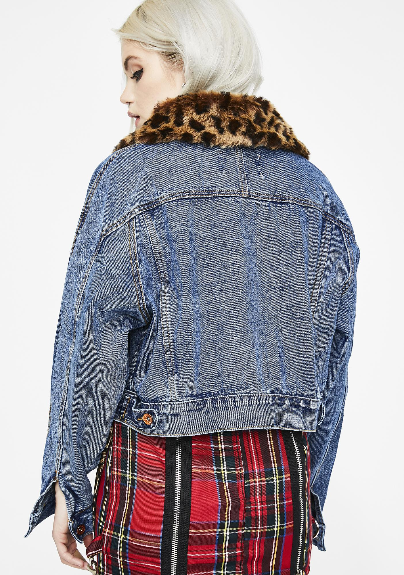 Snappin' Savage Denim Jacket