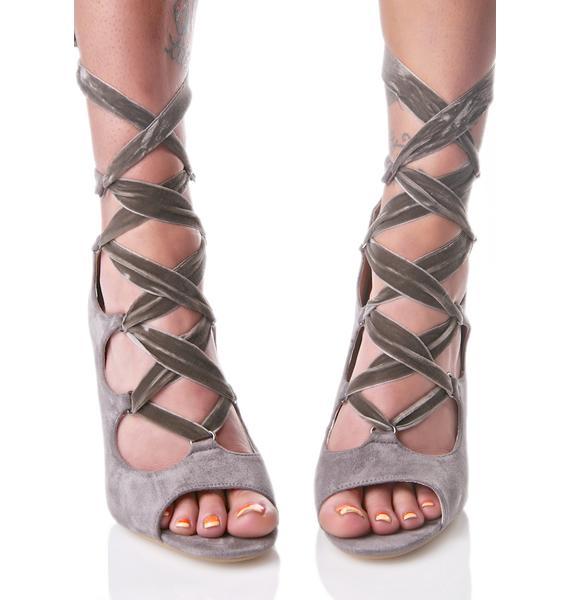 Shadow Aurora Wrap Heels