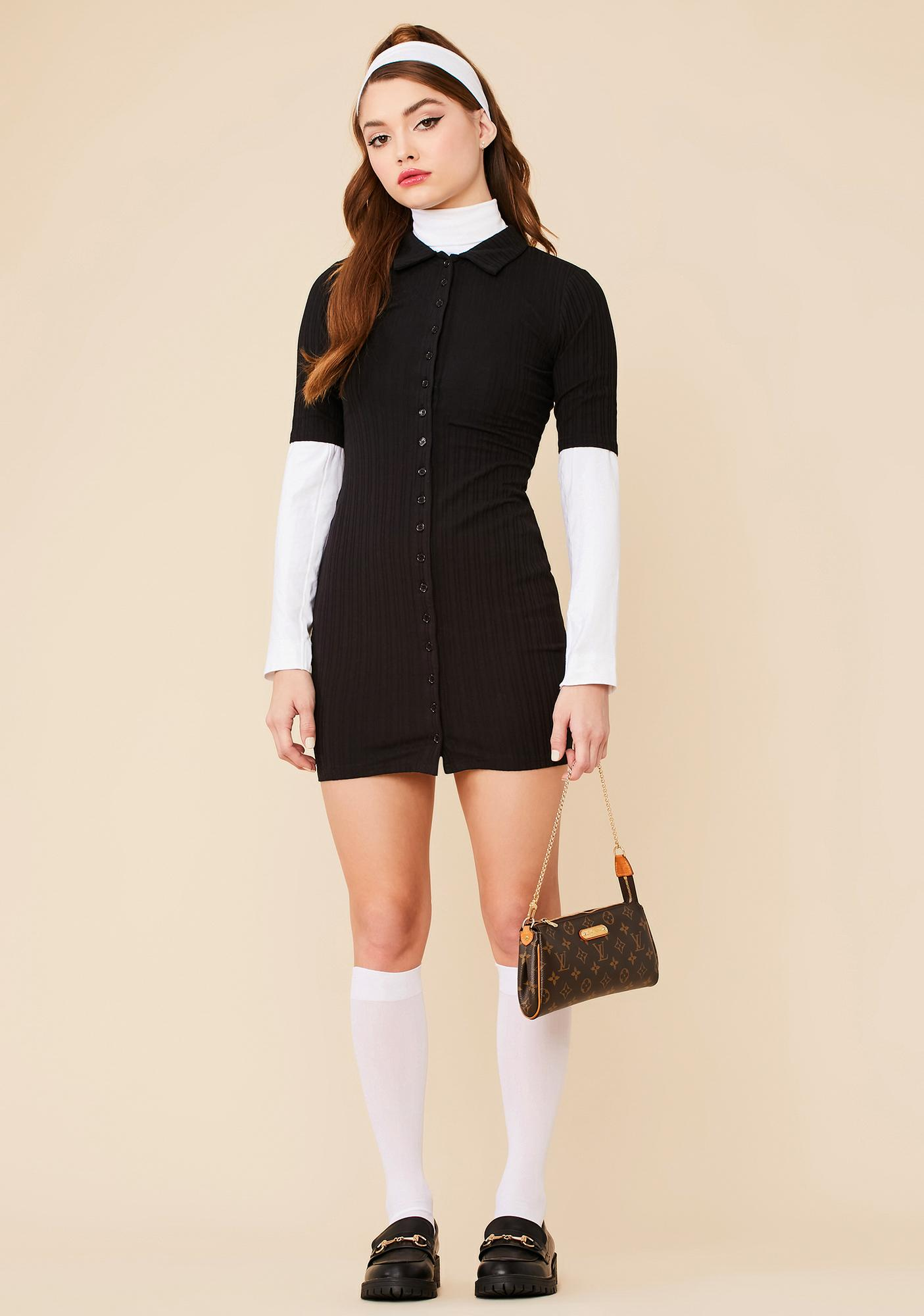 Bet On This Button Down Dress