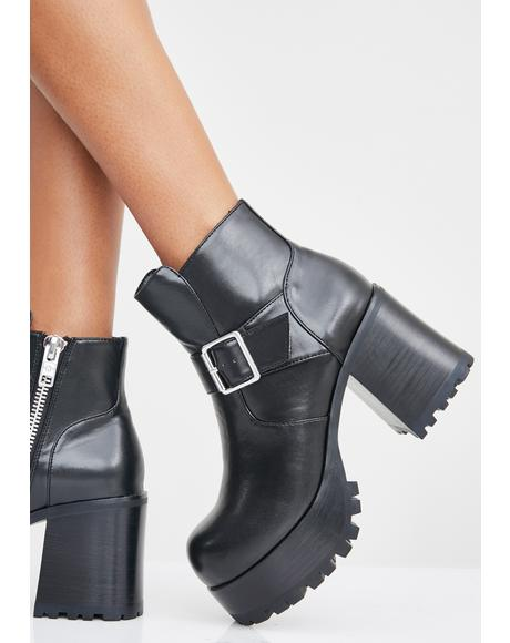 Light It Up Platform Boots