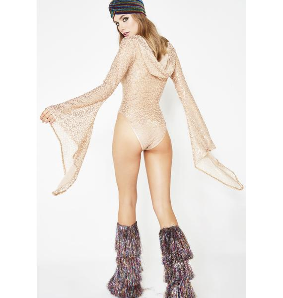 J Valentine Bliss Opulence Sequin Bodysuit