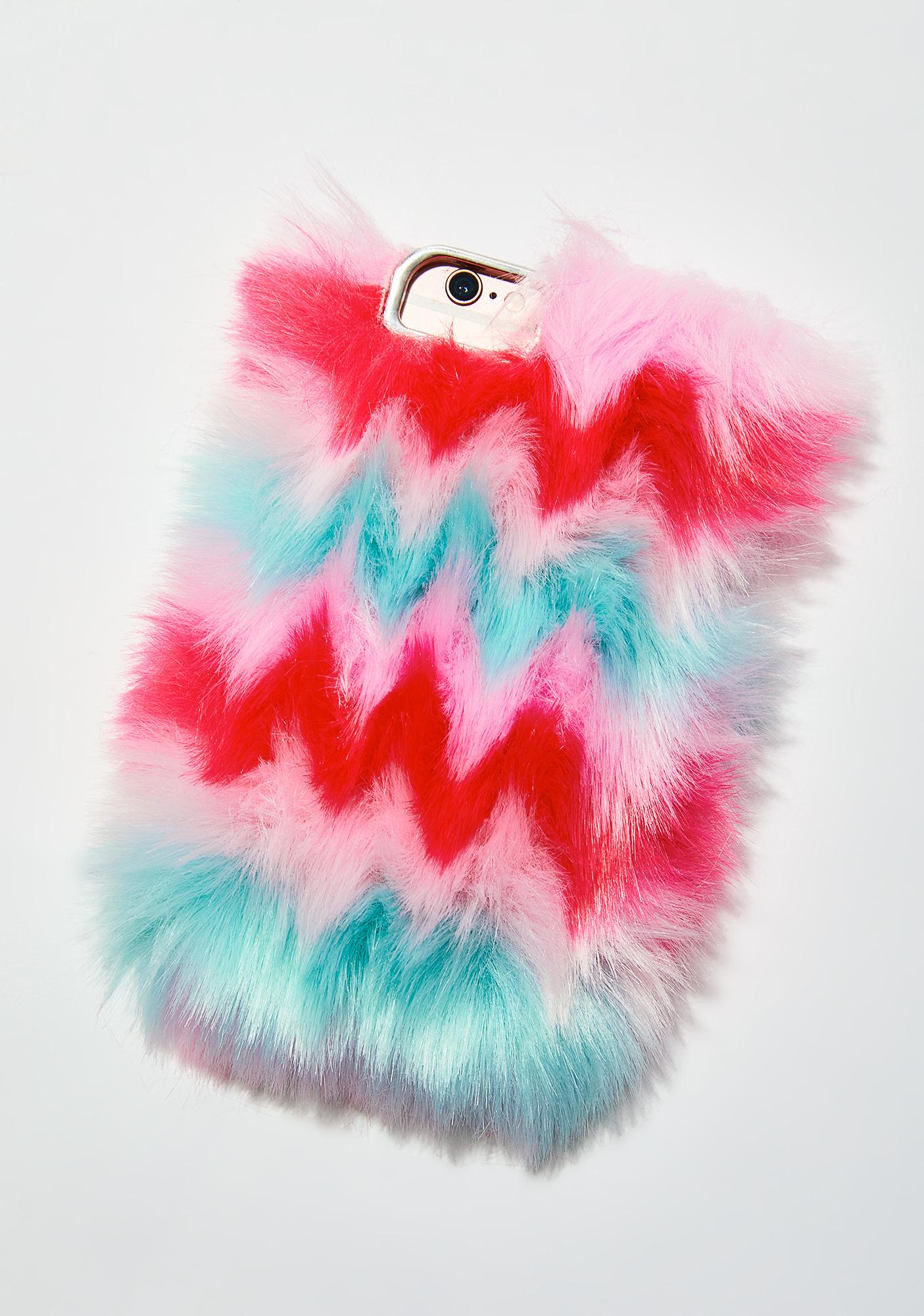 Skinnydip Faux Fur Phone Case