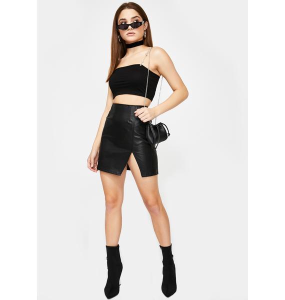 Slightly Obsessed Mini Skirt