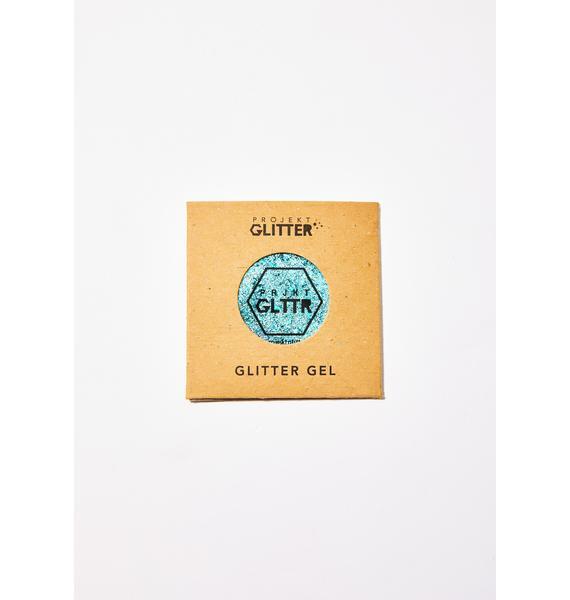 Projekt Glitter Turquoise Biodegradable Glitter Gel