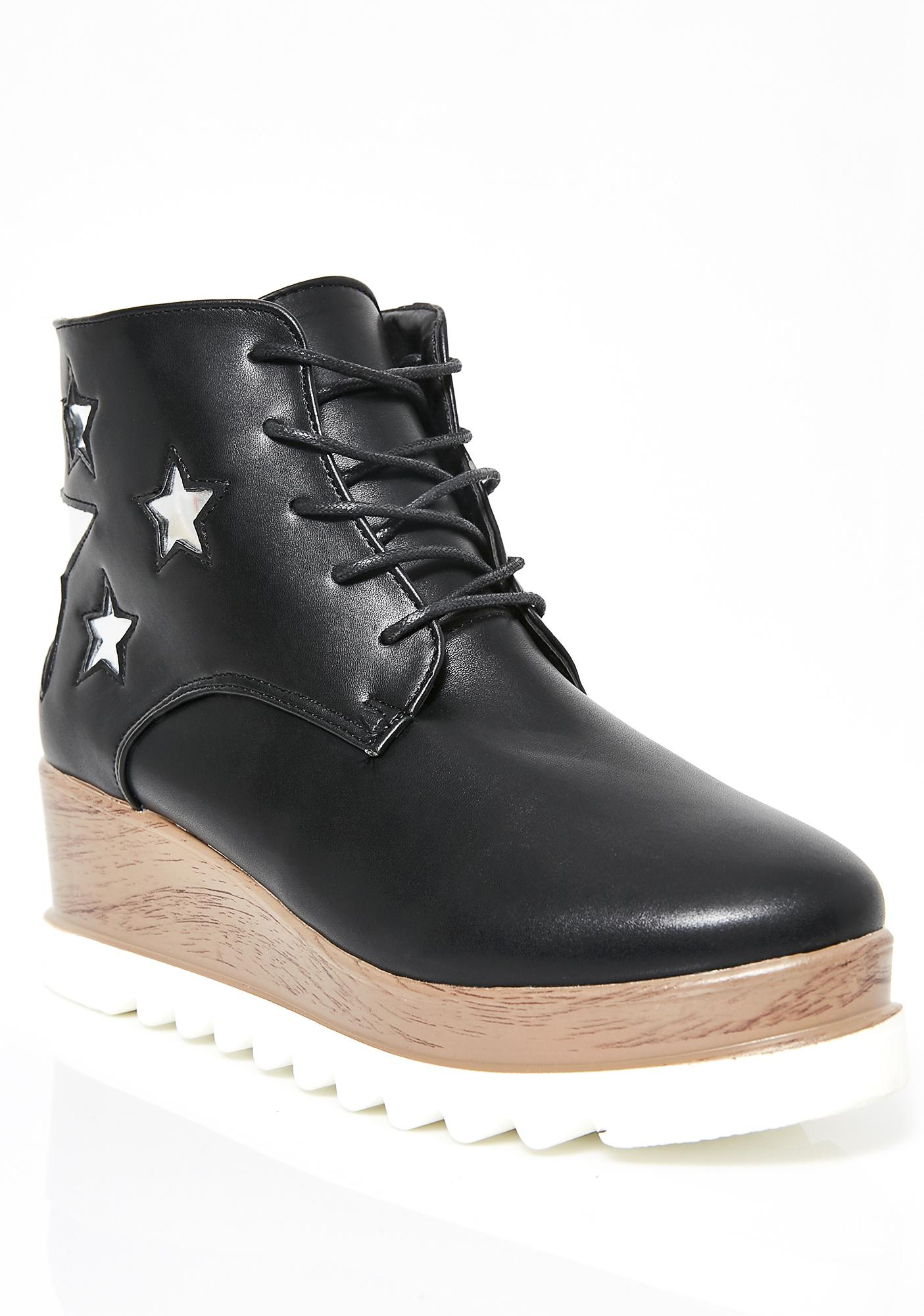 Extra Terrestrial Platform Boots