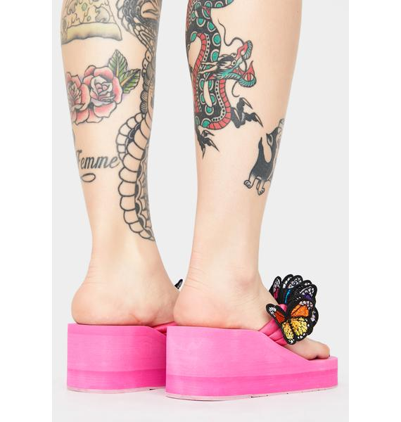 Sweet Friends 4 Life Platform Sandals