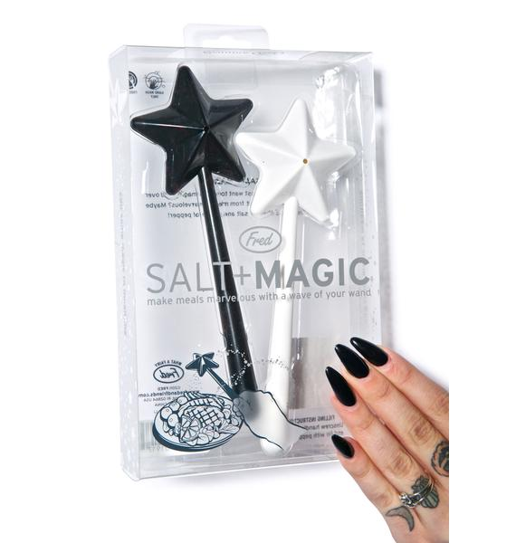 Magic Wand Salt & Pepper Shakers