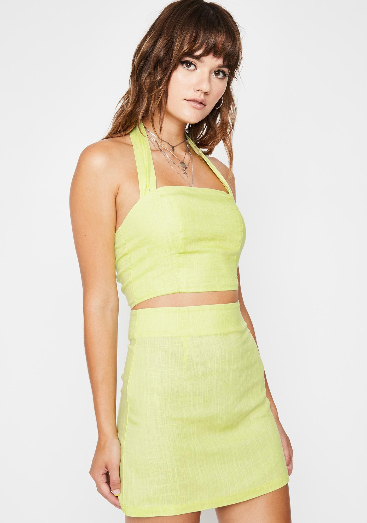 Cute Times Two Skirt Set