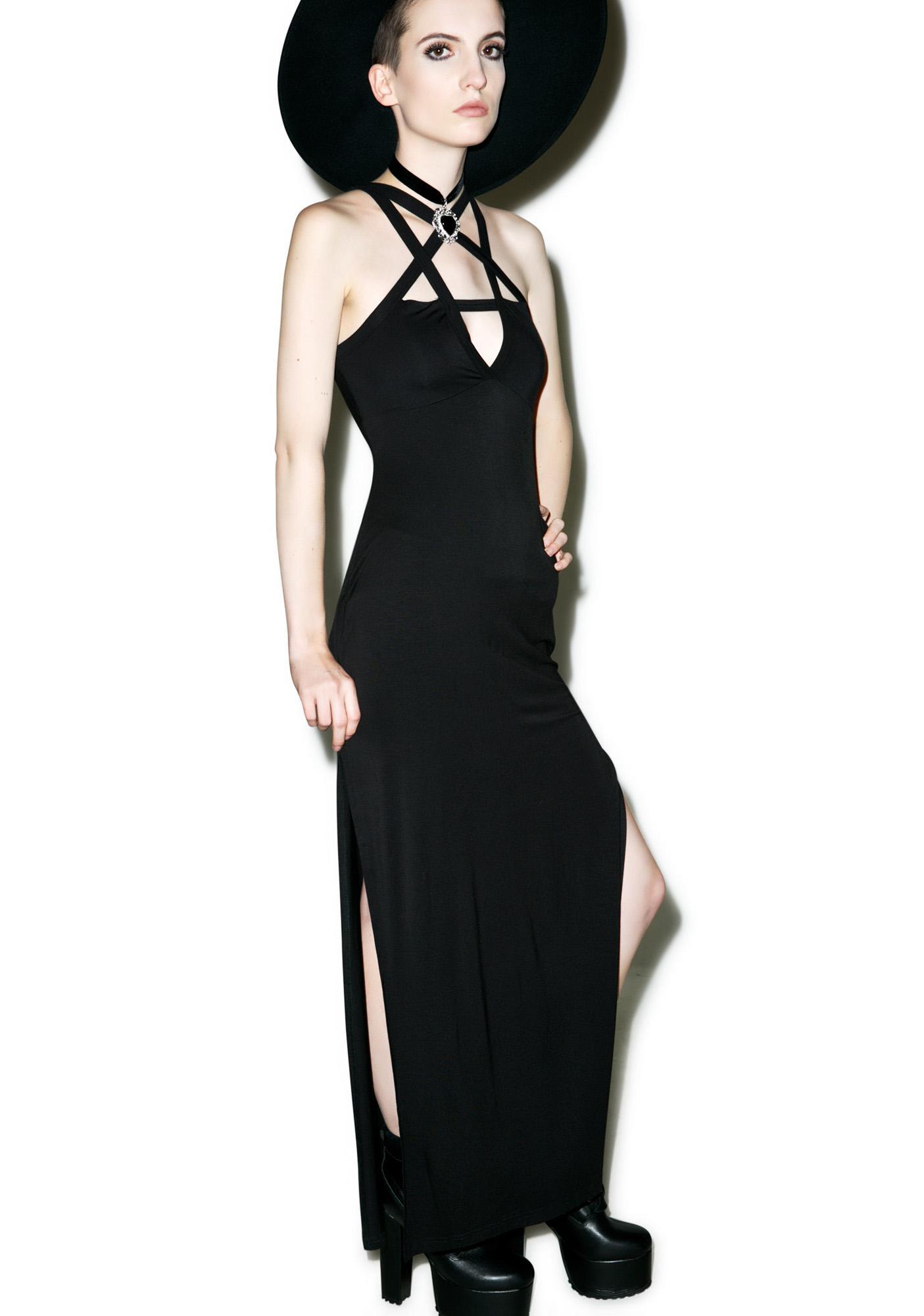 Killstar Magi Penta Maxi Dress