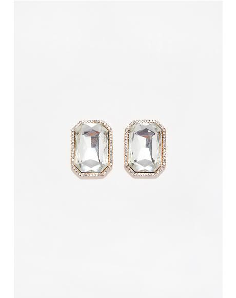 Bling Bling Gem Earrings