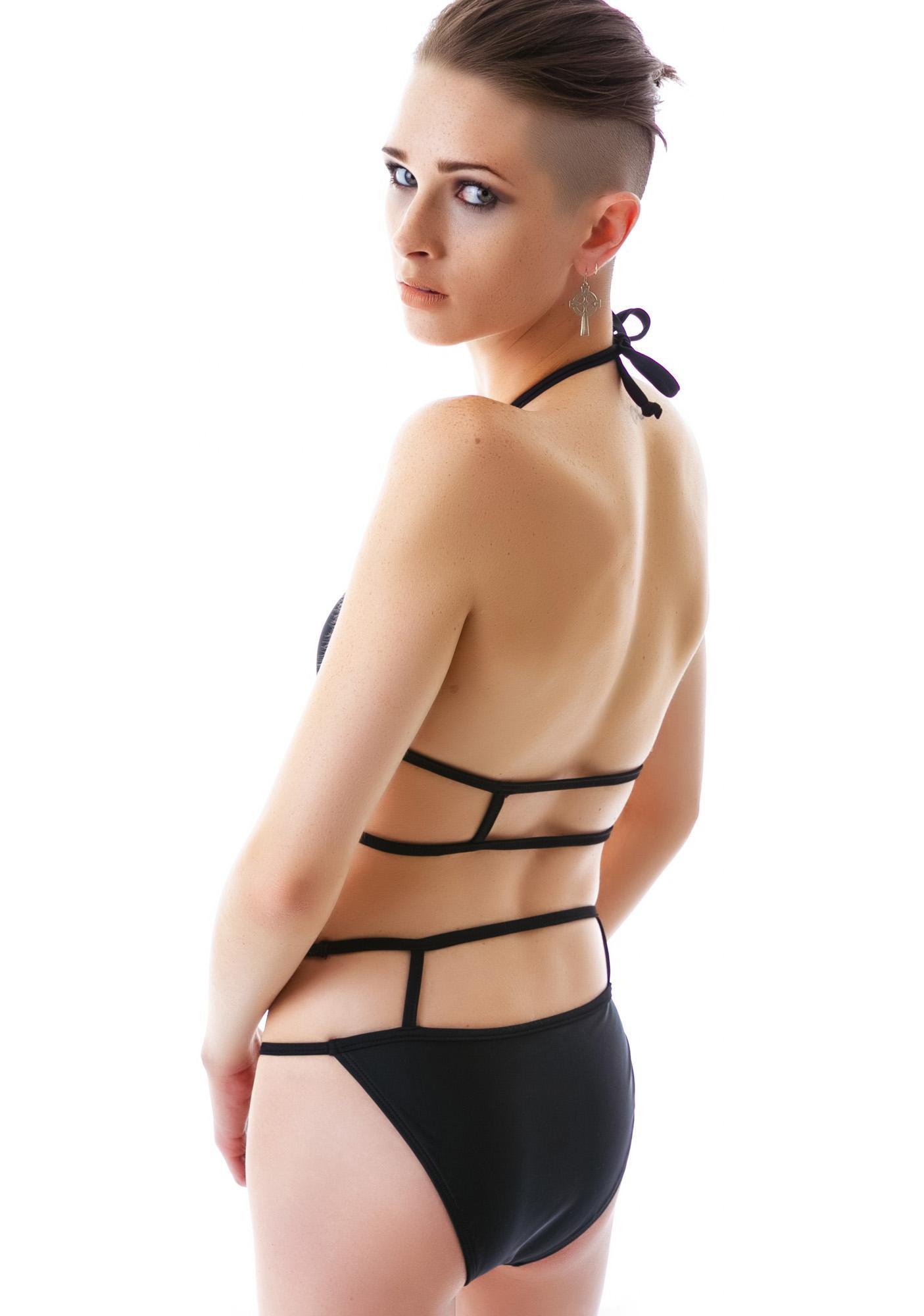 Rebel Cut Out Bikini