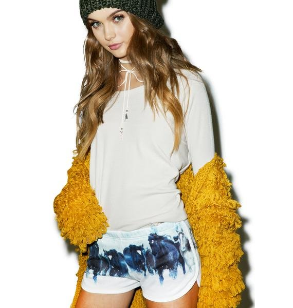 All Things Fabulous To The Races Track Shorts