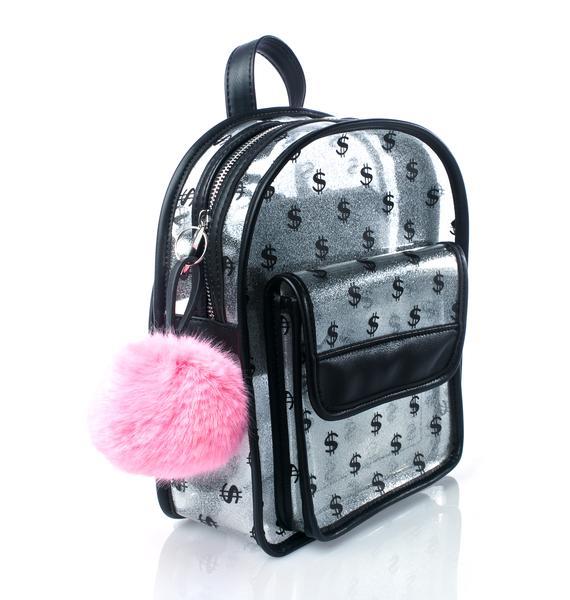 Skinnydip Dollar Dollar Backpack