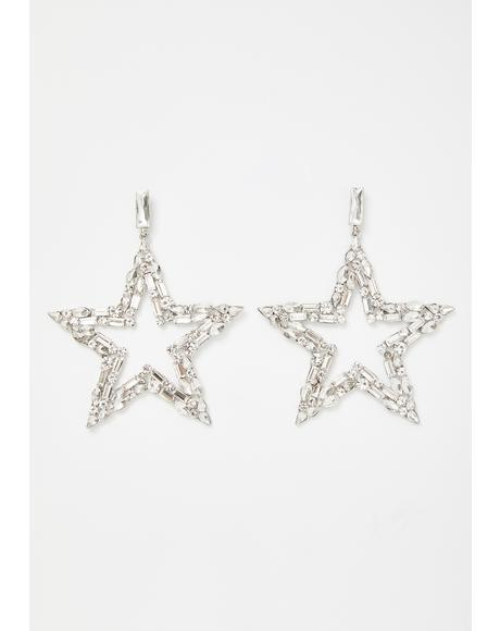 Starstruck Storm Rhinestone Earrings