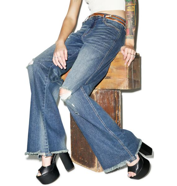 Vista Royale Wide Leg Jeans