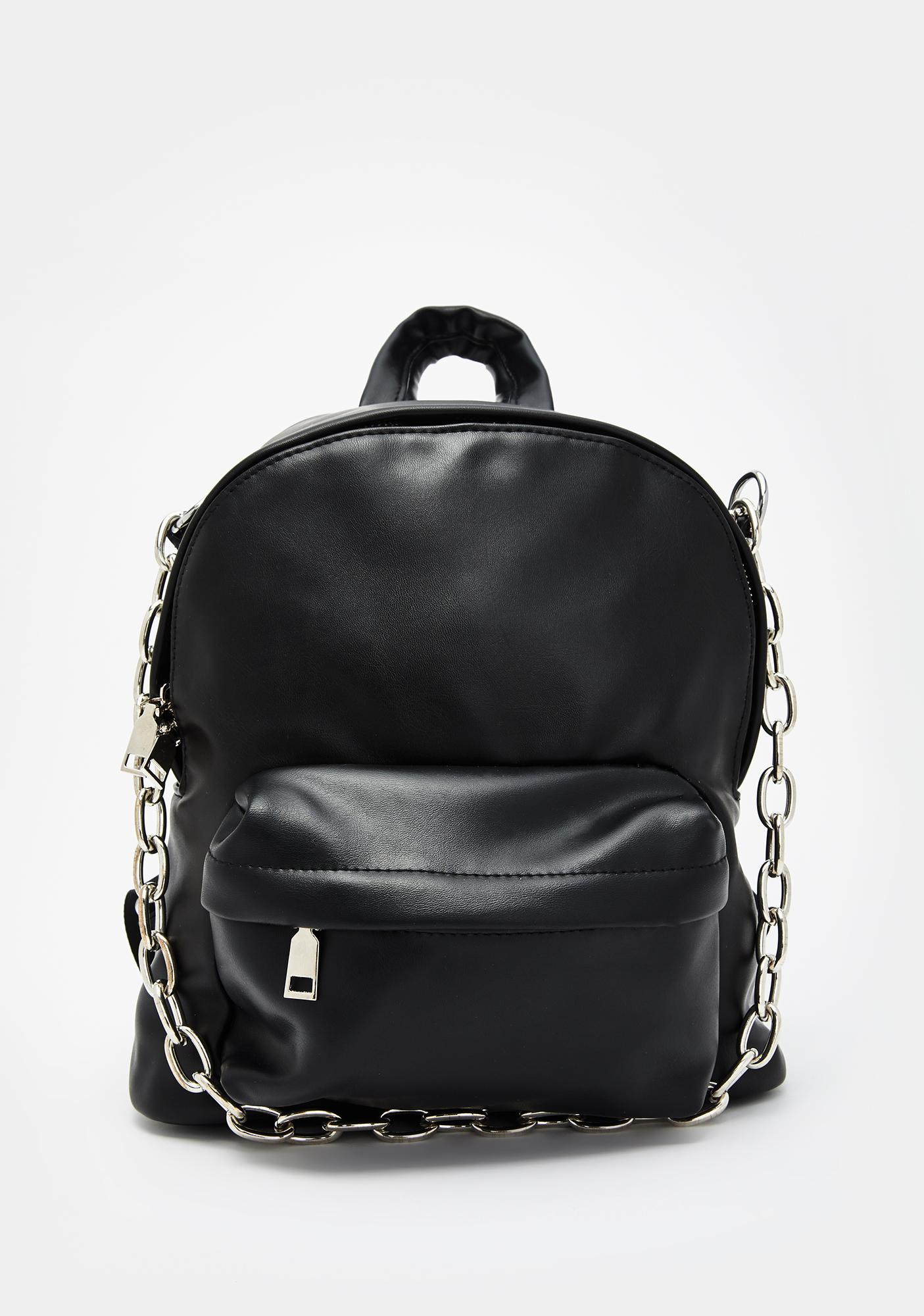 Call Me Trouble Chain Backpack