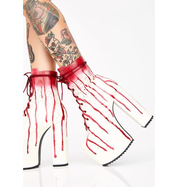 Dolls Kill Scream Queen Platform Boots