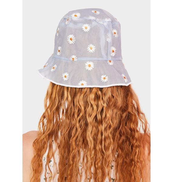 Cloud Dreaming Of Daisies Bucket Hat
