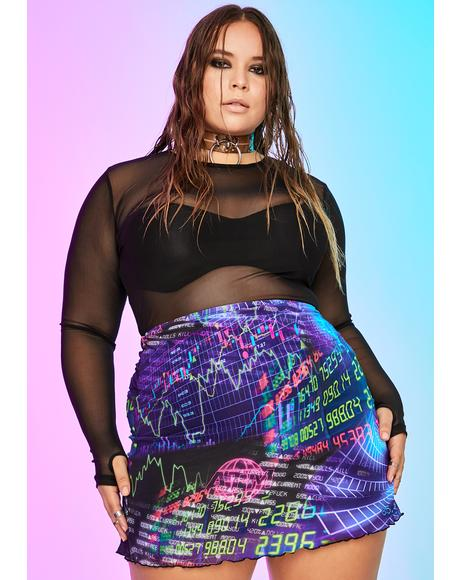 Infinite Time Continuum Mesh Skirt