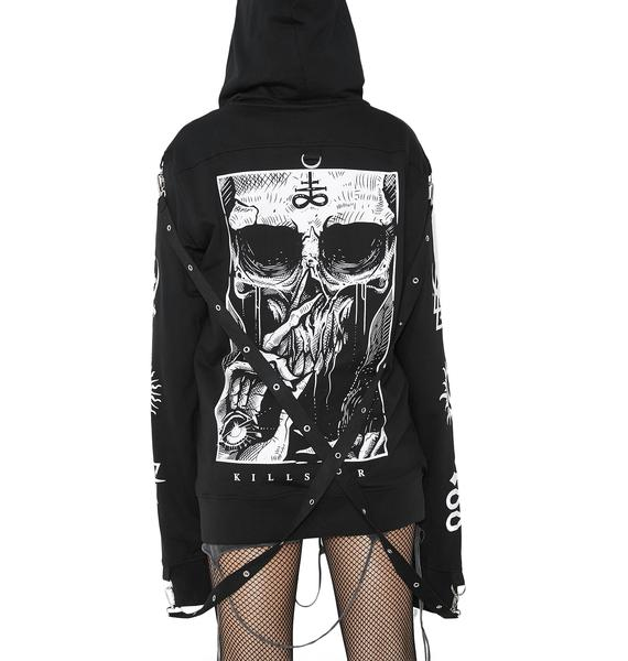 Killstar Blind Mind Doomsday Hoodie
