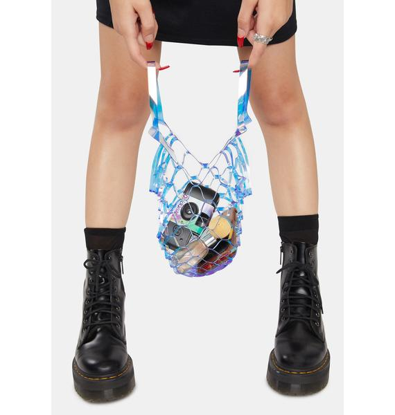 Crystal On The Go Net Tote Bag