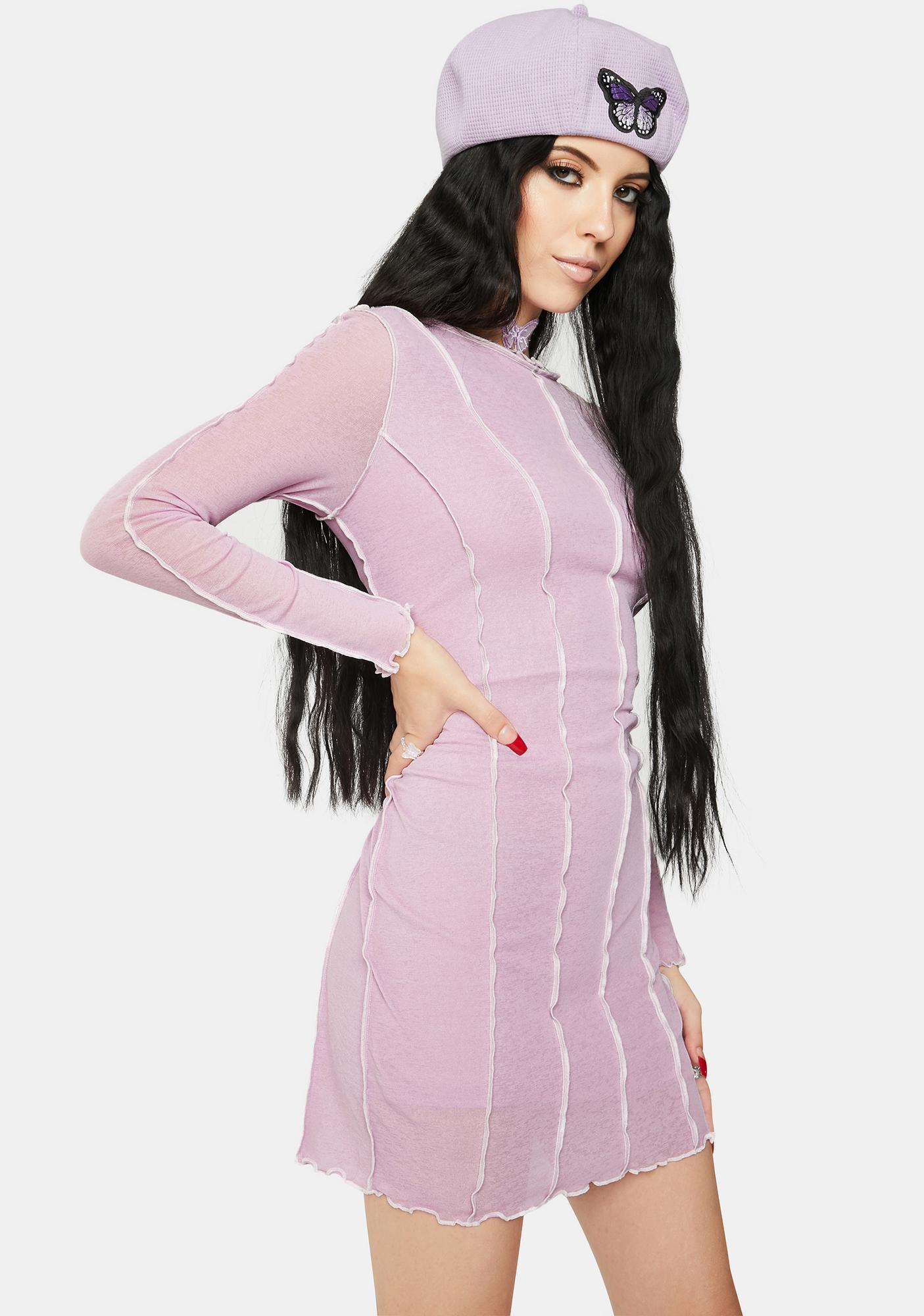 Twiin Assemble Mesh Dress