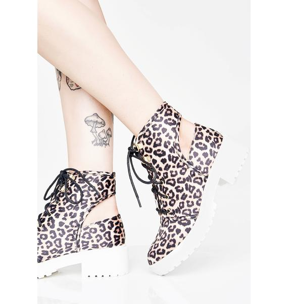 Fierce Kira Cut Out Boots