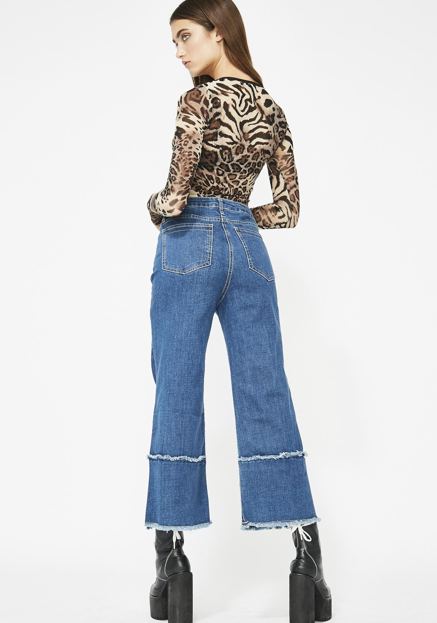 Moon Cruise Cropped Jeans