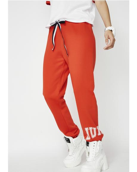 Juicy Mini Logo Terry Pants