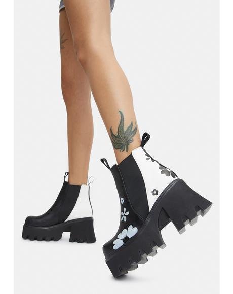 Come Together Chunky Platform Ankle Boots