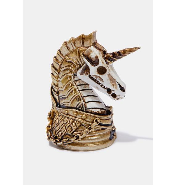Alchemy England Unicorn Head Miniature