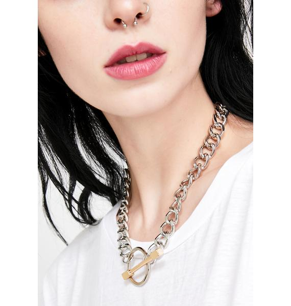 Real Trouble Chain Necklace