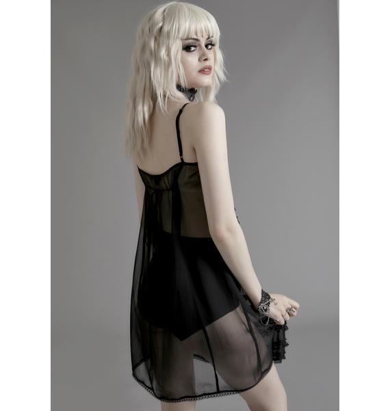Widow Dream Within A Dream Slip Dress