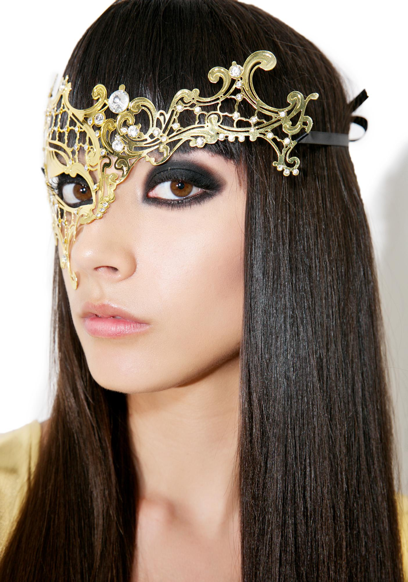 Monarch Masquerade Mask