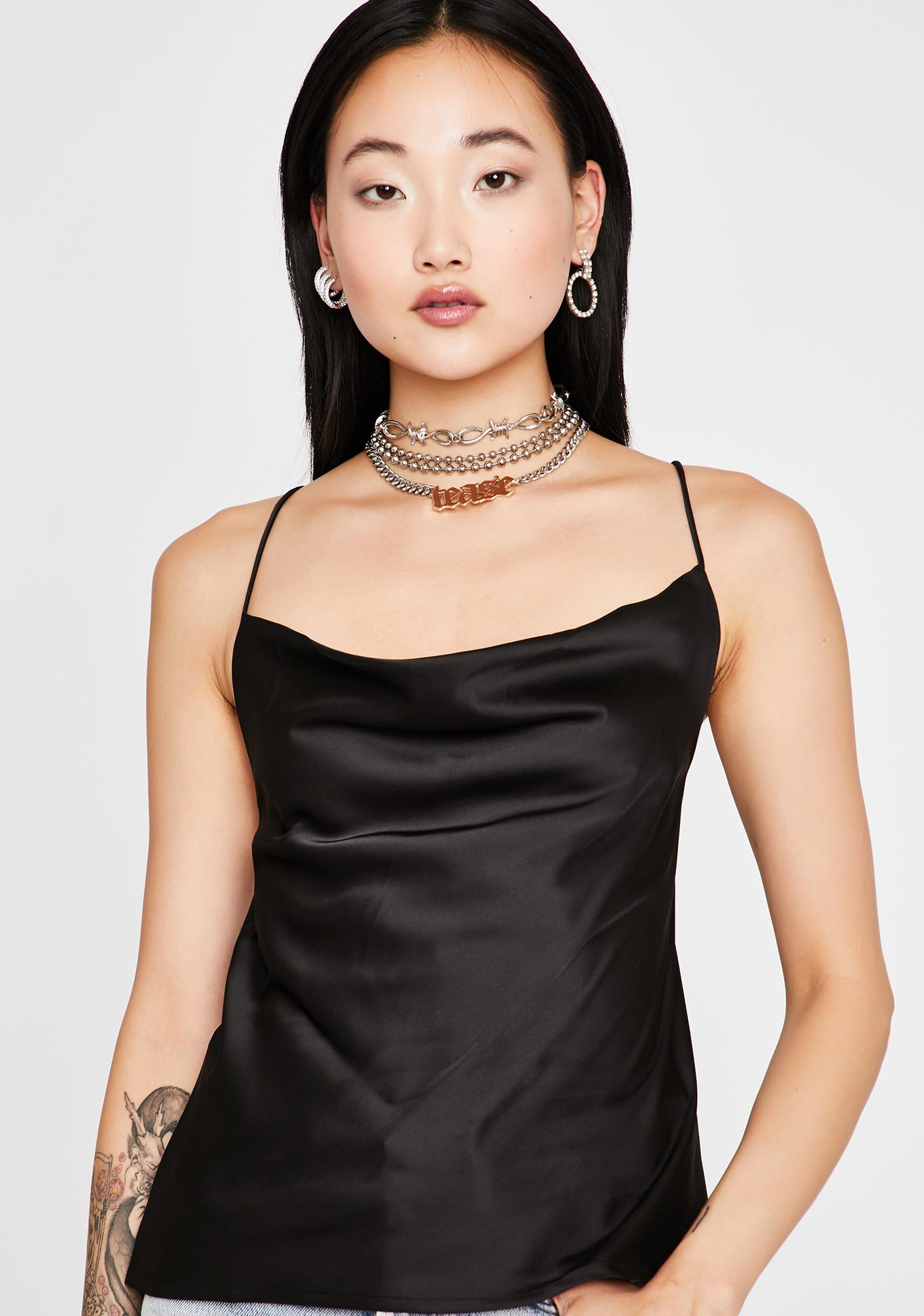 New Drip Strappy Blouse
