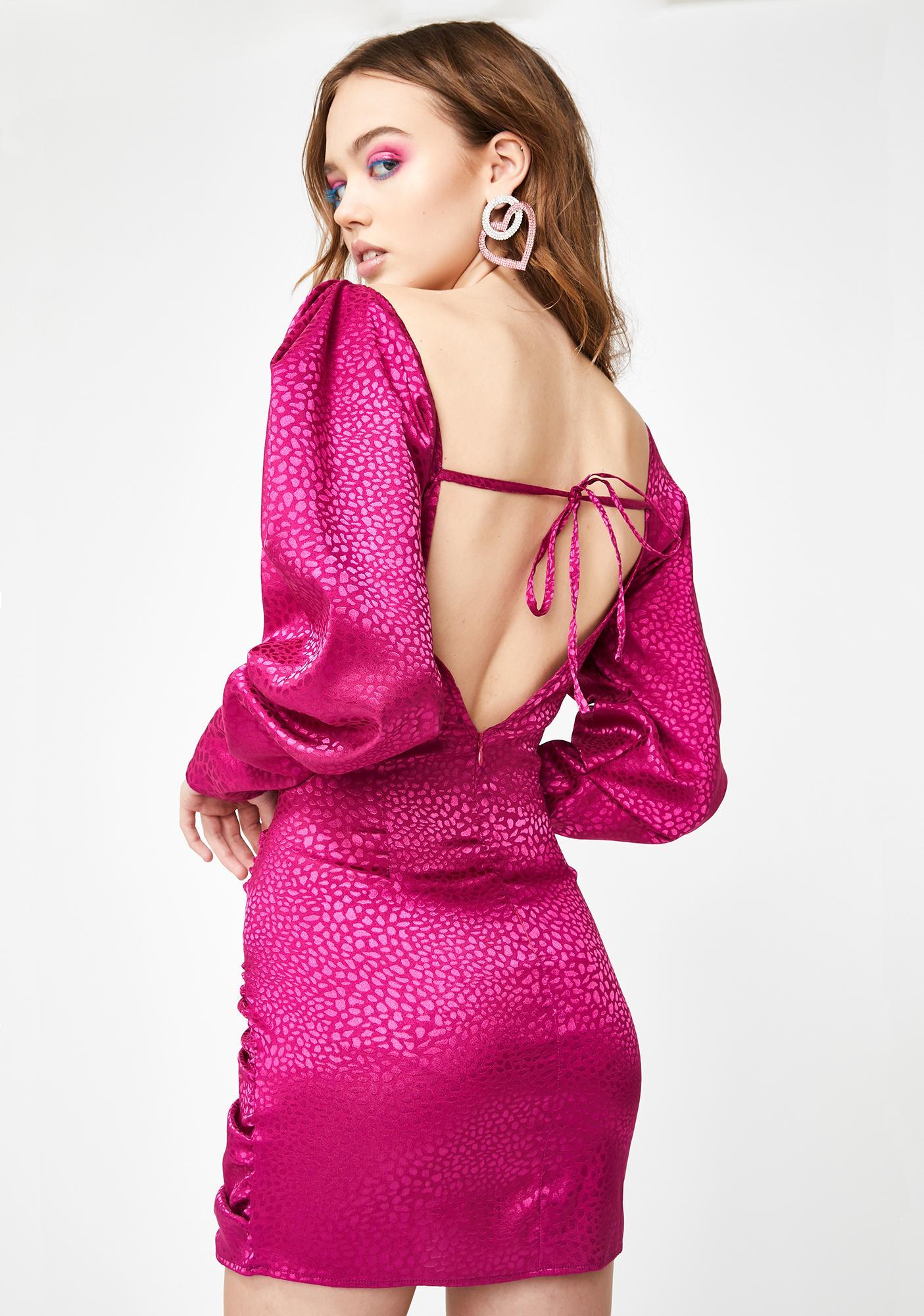 Lashes of London Gypsy Rose Mini Dress
