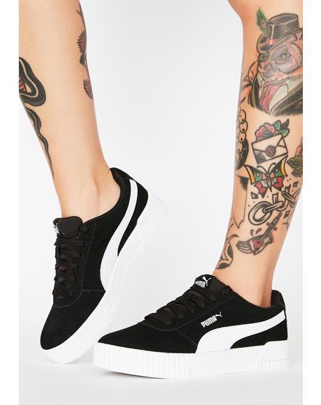 Black Carina Classic Sneakers