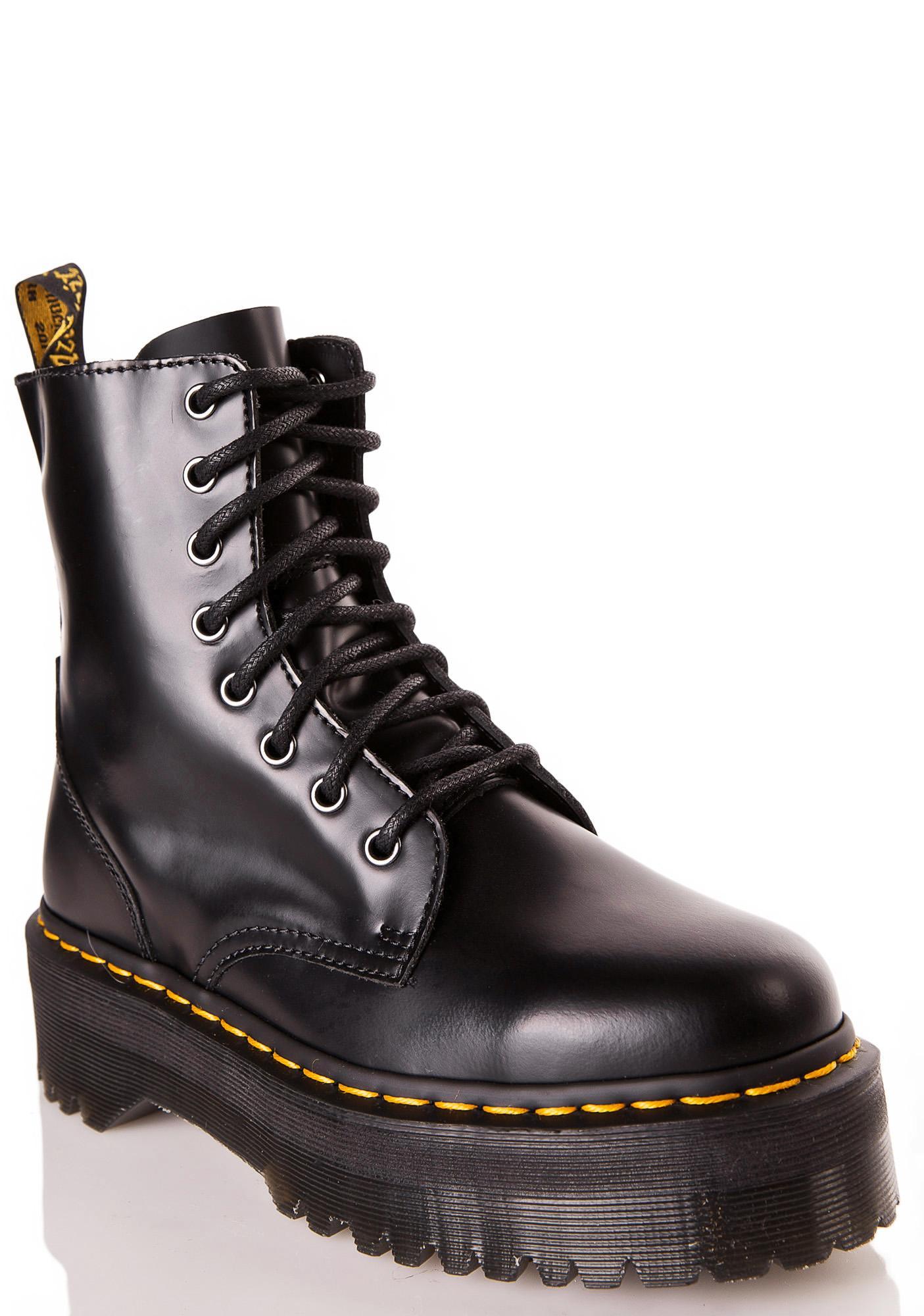 Dr Martens Jadon 8 Eye Boots Dolls Kill